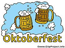 Bière clip art gratuit - Oktoberfest dessin
