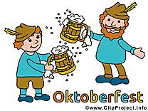 Bière images - Oktoberfest clip art gratuit