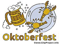 Écrevisse bière clipart gratuit - Oktoberfest images