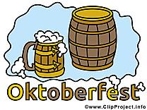 Fête cliparts - Oktoberfest images gratuites