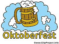 Fête dessin - Oktoberfest cliparts à télécharger