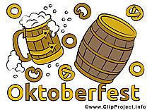 Illustration Oktoberfest images gratuites
