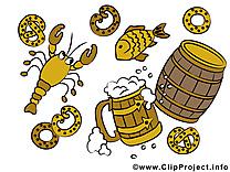 Oktoberfest dessin cliparts à télécharger