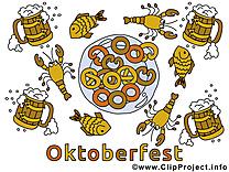 Oktoberfest dessins gratuits clipart