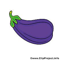 Aubergine image gratuite – Légume clipart