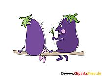 Aubergines cliparts gratuis - Légume images