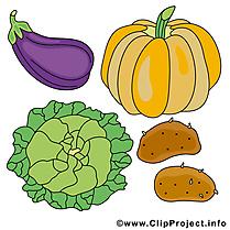 Légumes dessin gratuit à télécharger