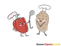 Patate tomate image gratuite - Légume illustration