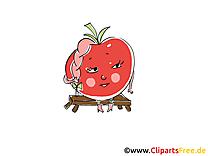 Tomate dessins gratuits - Légume clipart