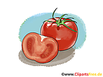 Tomates dessin - Légume à télécharger