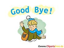 Adieu image à télécharger gratuite