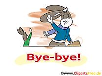 Lapin clipart gratuit - Adieu images