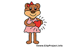 Coeur amoureux illustration à télécharger gratuite
