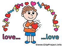 Homme dessin - Amoureux cliparts à télécharger