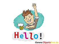Homme bière dessin à télécharger - Salut images