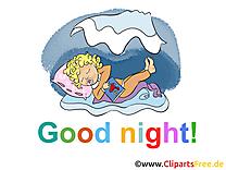 Bébé clipart gratuit - Bonne nuit images