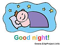 Bébé image à télécharger - Bonne nuit clipart