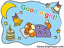 Bonne nuit dessin clip arts gratuits