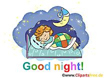 Bonne nuit dessin gratuit à télécharger