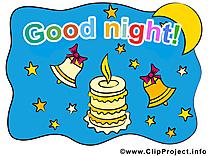 Bonne nuit illustration images