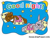 Bonne nuit images gratuites clipart