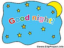 Ciel image gratuite – Bonne nuit clipart