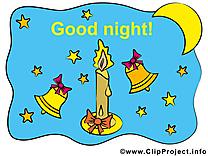 Cloches image à télécharger - Bonne nuit clipart
