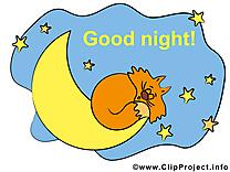 Croissant dessin à télécharger - Bonne nuit images