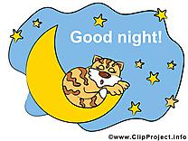 Croissant images - Bonne nuit dessins gratuits