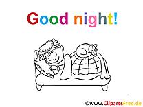 Images bonne nuit dessins gratuits