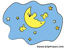 Lune cliparts gratuis - Bonne nuit images
