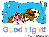 Ours clip art gratuit – Bonne nuit images