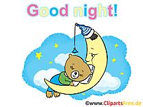 Ours image - Bonne nuit images cliparts