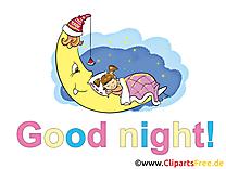Petite fille clip art gratuit – Bonne nuit images