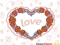 Amour illustration - Coeur images gratuites