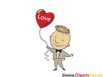Amoureux clip arts gratuits - Coeur illustrations