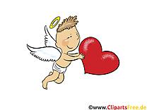 Ange clip art gratuit – Coeur images gratuites