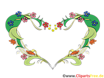 Coeur clip art image gratuite