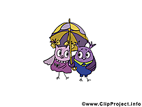 Hiboux dessin - Meilleurs amis clip arts gratuits