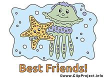Meilleurs amis image à télécharger gratuite
