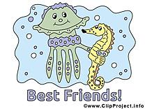 Meilleurs amis images  dessins gratuits