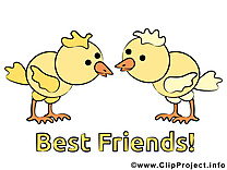 Poussins dessin - Meilleurs amis à télécharger