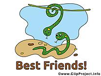 Serpents clipart gratuit - Meilleurs amis images