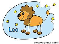 Lion image gratuite - Signe illustration