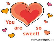 Coeur tu es douce image gratuite cliparts