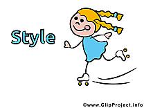 Tu as du style clip art image gratuite