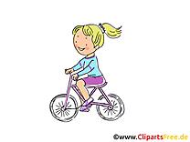 Bicyclette dessins gratuits - Loisir clipart