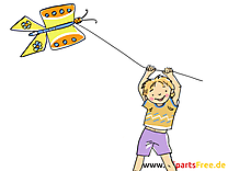 Cerf-volant clipart - Loisir dessins gratuits