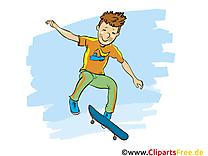 Planche à roulettes images - Loisir dessins gratuits