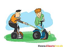 Segway images gratuites – Loisir clipart